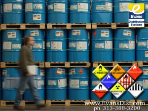 Evans Distribution Systems, hazmat, hazardous materials