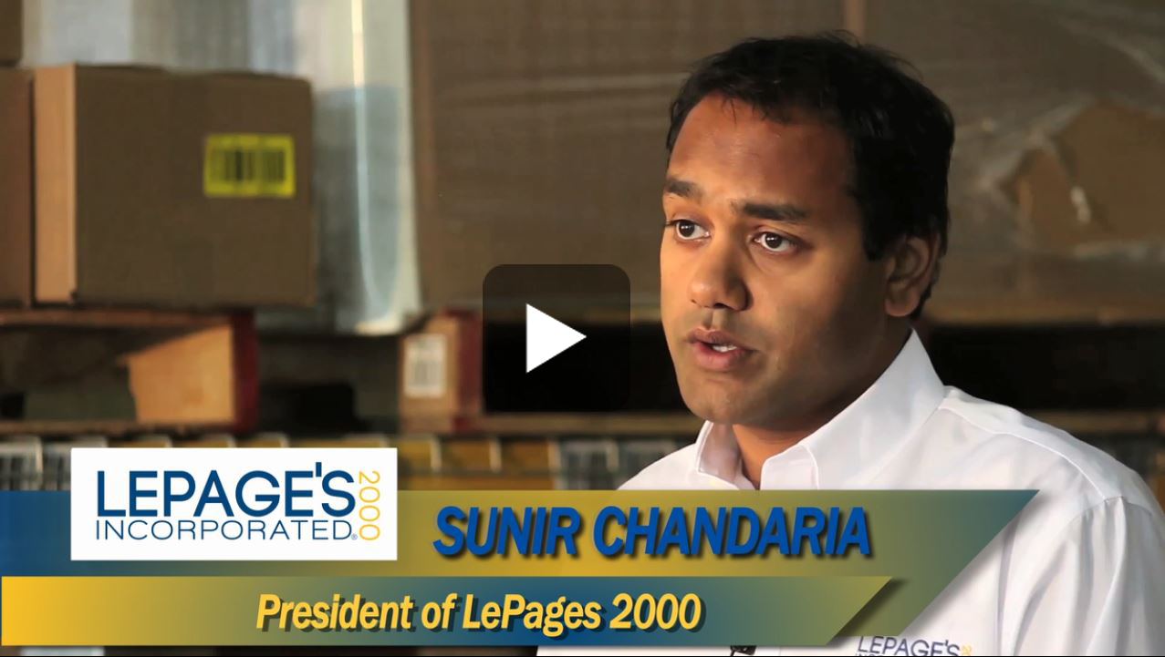 LePages Evans Distribution Systems video testimonial