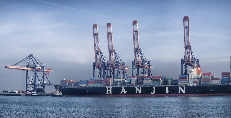 Hanjin container ship netherlands