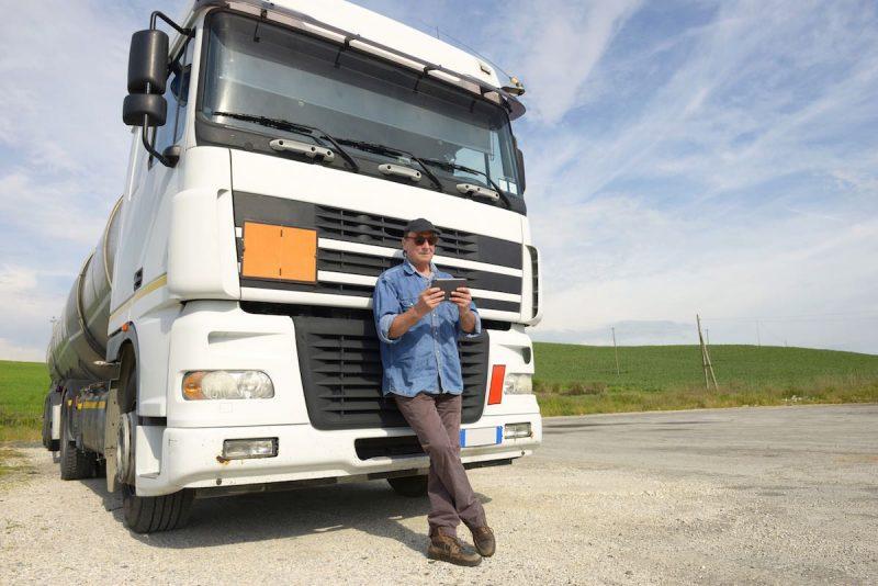 Truck Driving App