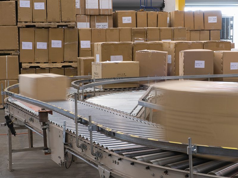How does e-commerce affect warehousing?