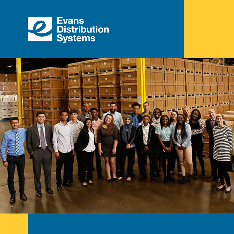 Melvindale High School Students Visit Evans Distribution Systems