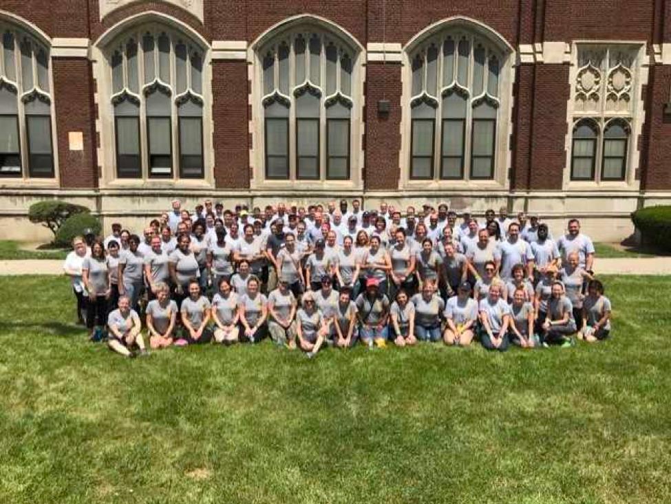 Evans and Carhartt Team Up at Detroit Public Schools