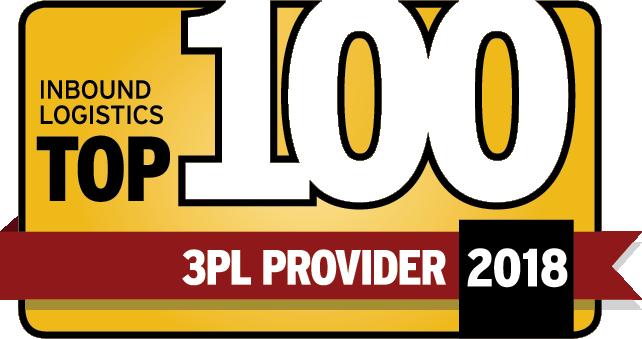 Inbound Logistics Top 100 3PL 2018