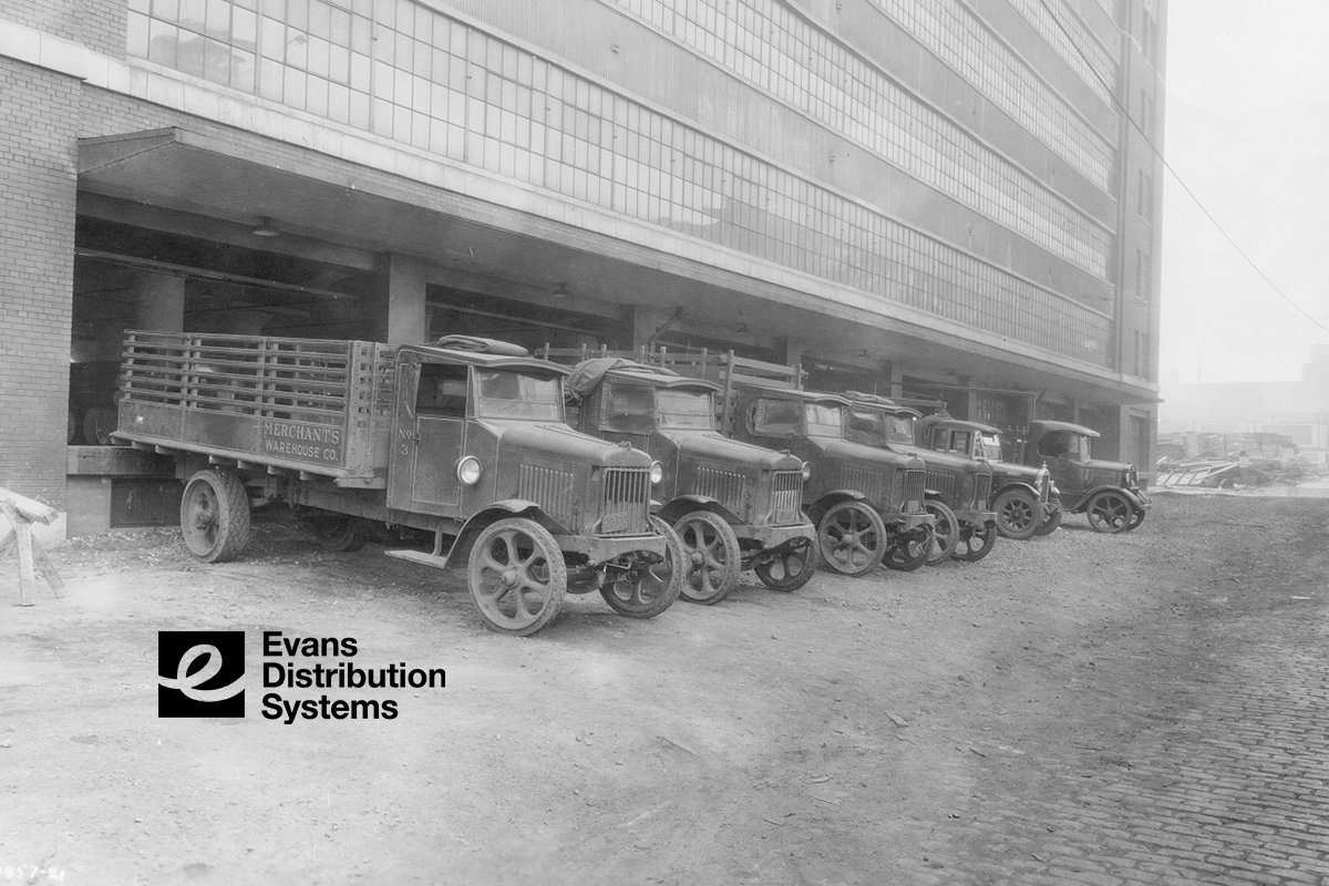 Then to Now: 90 Years of Logistics History