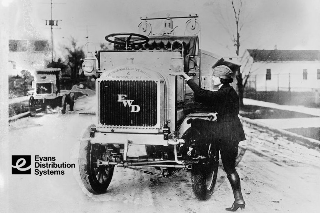 First Female Truck Driver