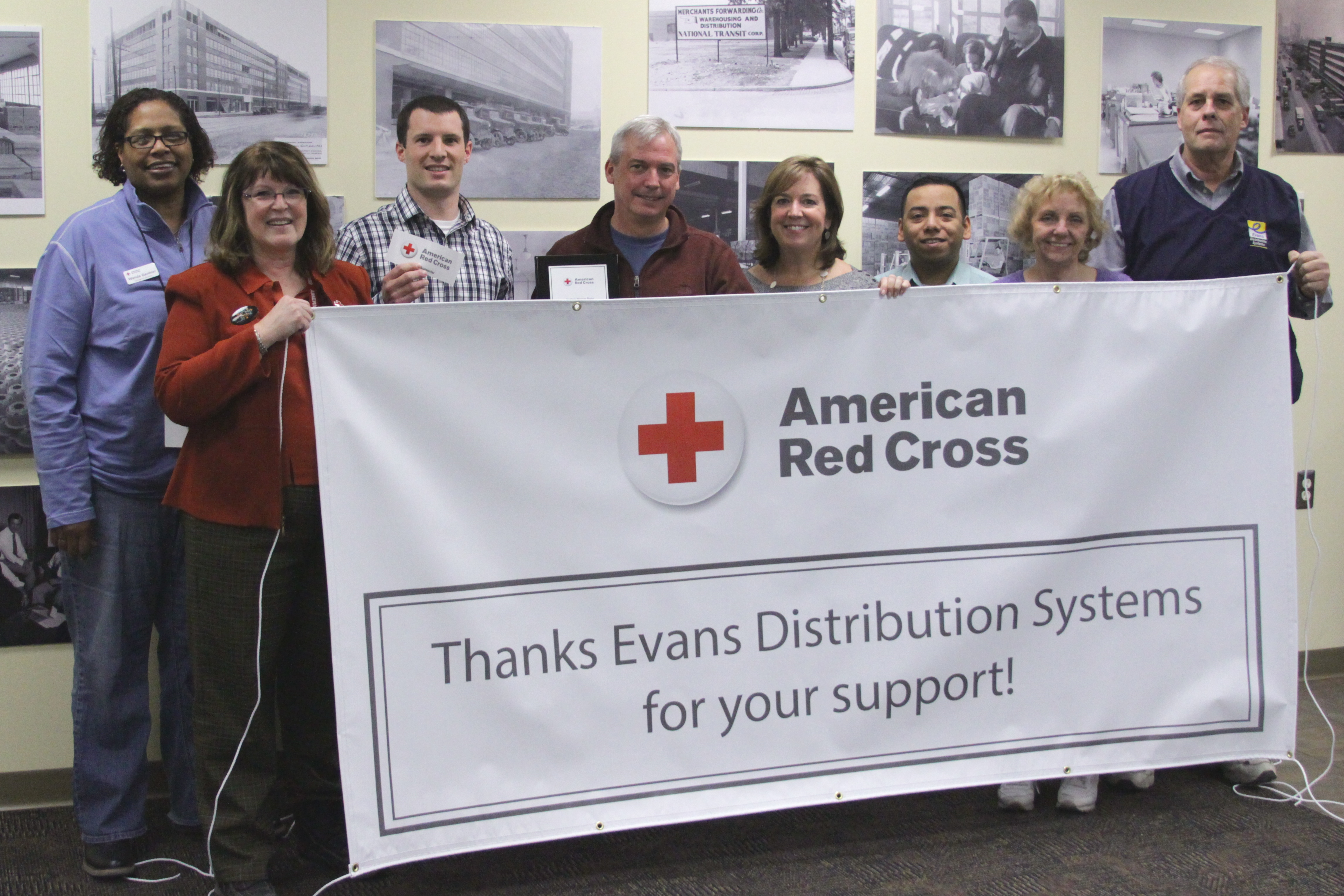 Evans Aides Disaster Relief Efforts