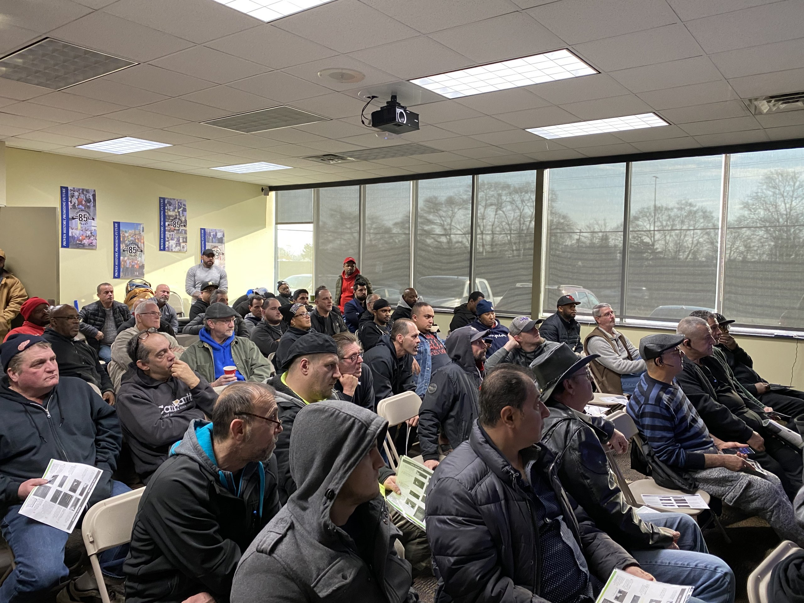 Evans Distribution Systems Hosts Driver Safety Meeting at Headquarters